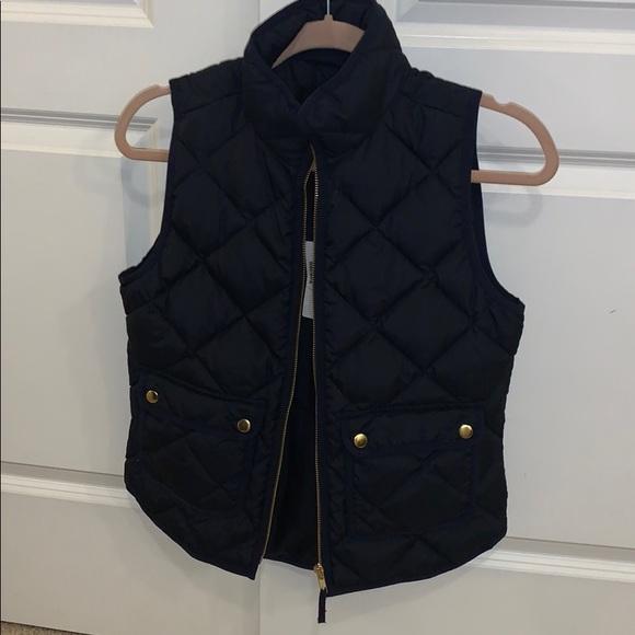 J crew navy vest brand new!!!!